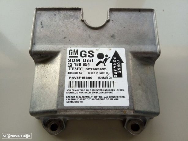 Kit De Airbags Opel Astra H (A04)
