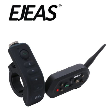 INTERKOM MOTOCYKLOWY ejeas E6+ PILOT bluetooth FIRMA mikrofon