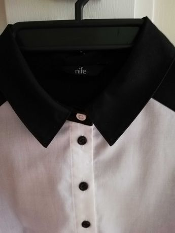 Bluzka koszulowa damska rozmiar 40