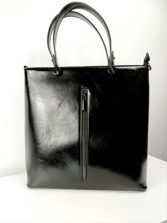 Czarna Torba wizytowa cena: 89 zł  32x34 cm #bag #newpost