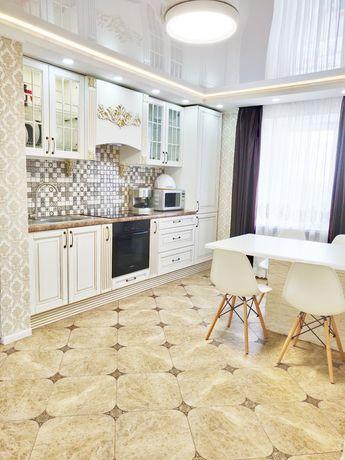 Двухкомнатная квартира с ремонтом и мебелью!