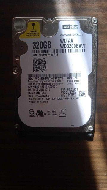 Жесткий диск Western 320гб WD AV 3200BVVT НЕ ДОРОГО.