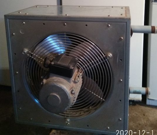 Новый тепловентилятор WOLF LN 25-2