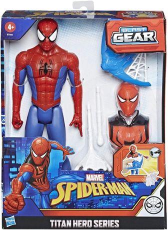 Набор фигурка Человек Паук 30 см серия Титаны Blast Gear