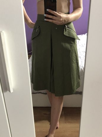 Simple spodnica rozkloszowana wysoki stan 34