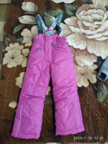 Зимние детские штаны, новые