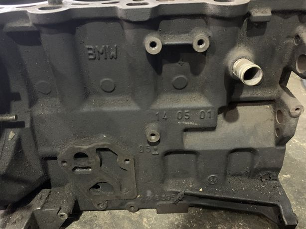 Продам двигатель по запчастям  бмв е46 2.0 дизель n47