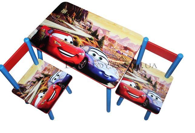 Детский столик и стульчик МакКвин для 1-7 лет (100 картинок)