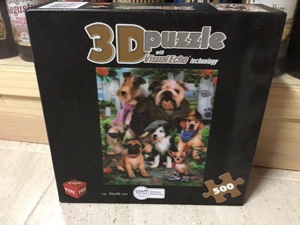 Puzzle 500 peças 3D