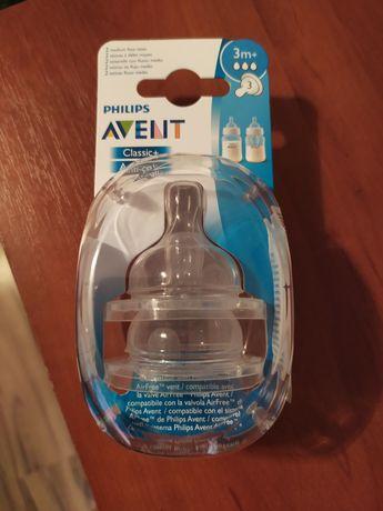 Соска силиконовая Philips Avent Anti-colic 3+ Средний поток, 2 шт.