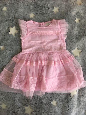 Sukienka dla dziewczynki r. 74 (62/68)