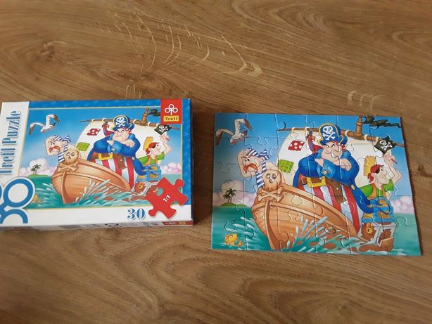 Puzzle Piraci 30 el