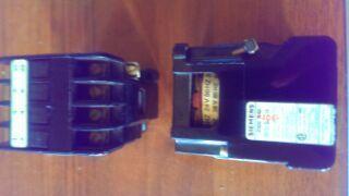 Stycznik Siemens 3TA20 24V AC, K1/10A 220V