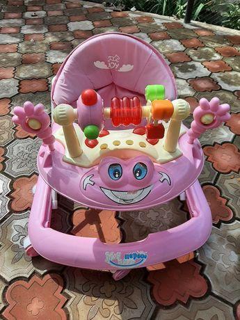 Ходунки детские Joy розовые