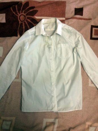 Белая школьная рубашка F&F для мальчика