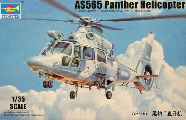 * TRUMPETER - 1:35 * AS565 Panther Helicopter