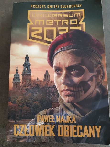 Książka Człowiek Obiecany - Paweł Majka, postapo Metro2033
