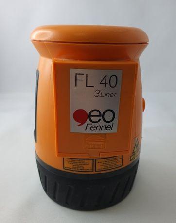 Niwelator Laser Liniowy krzyżowy Geo FENNEL FL40-3 linowy/ Sklep Łódź