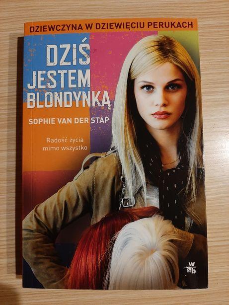 """Książka """"Dziś jestem blondynką"""" Sophie Van Der Stap. WYSYŁKA GRATIS"""
