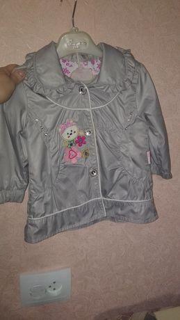 Детский плащ,  куртка,  ветровка рост 80 см от  до 2 лет