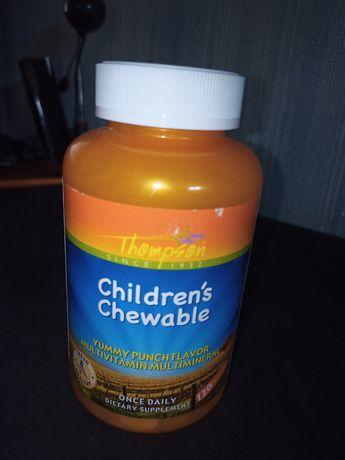 Витамины для детей 120 шт Thompson