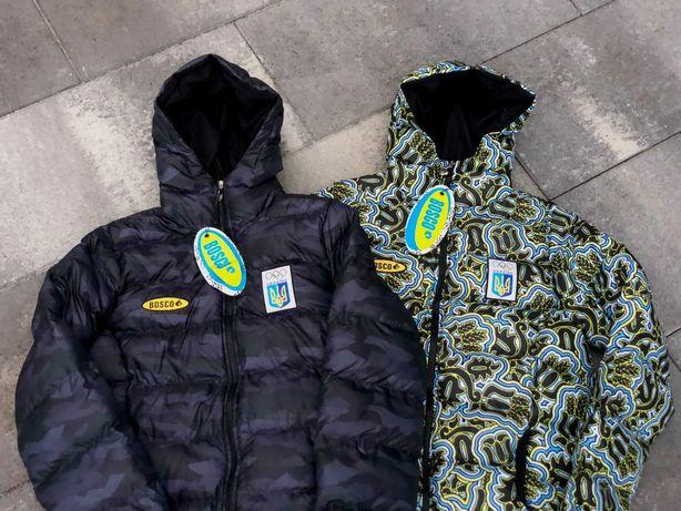 Зимняя куртка Bosco -18°Сsport, ветровка камуфляж лыжная Боско.Пуховик