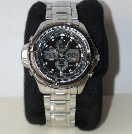 Klasyk zegarek CITIZEN PROMASTER C710 z termometrem