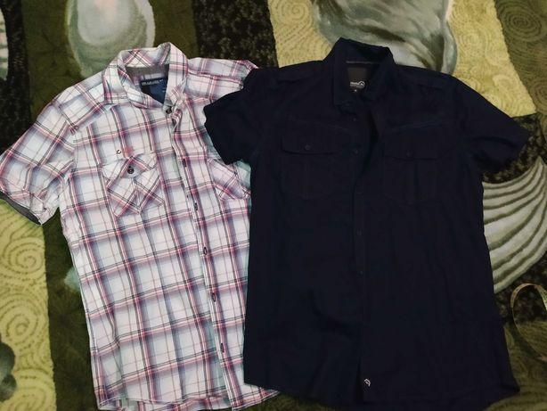 Koszule męskie krótki rękaw M