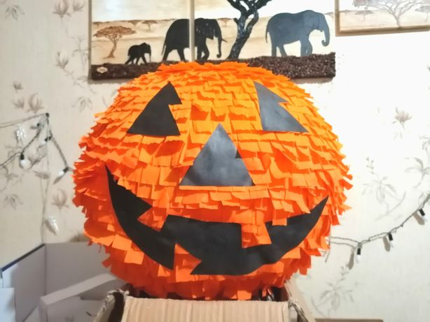 Тыква пиньята Хеллоуин