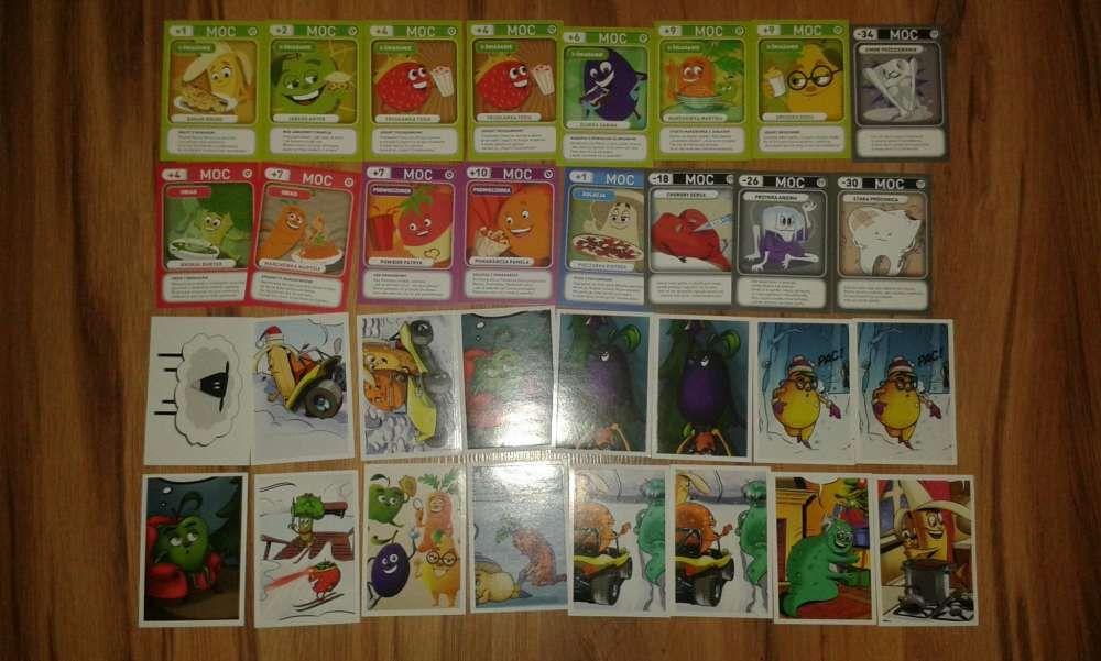 Karty swiezaki nowe i stare wymienie na brakujace nowe karty