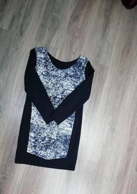 Плаття темно-синє