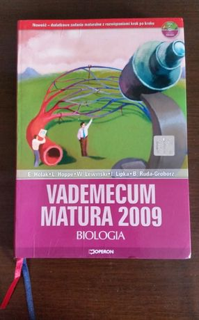 "Książka ""VADEMECUM Matura 2009 Biologia"" + płyta CD"