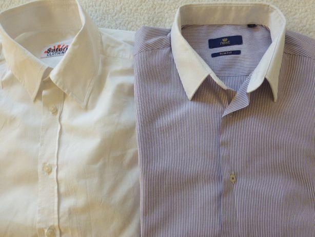 Две Рубашки 52р, 100% хлопок Next
