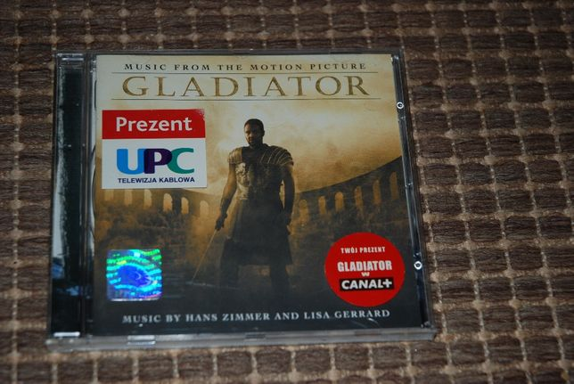 Gladiator CD - Music from the motion picture