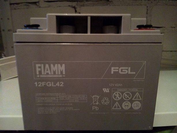 FIAM, Akumulator kwasowo-ołowiowy, 42Ah, 12V, Uszczelnienie FGL.