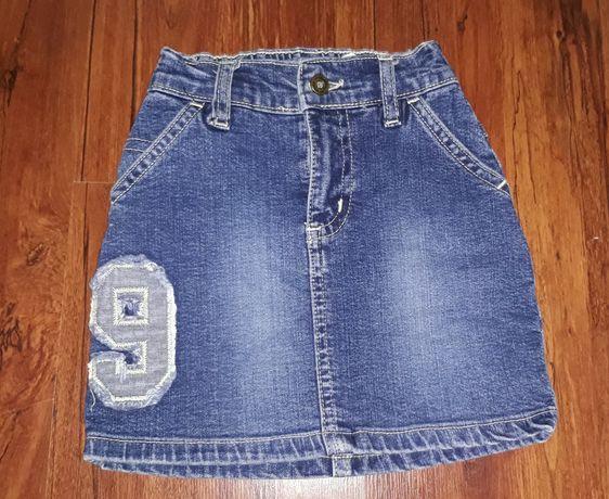 Модная джинсовая юбка на 2 года
