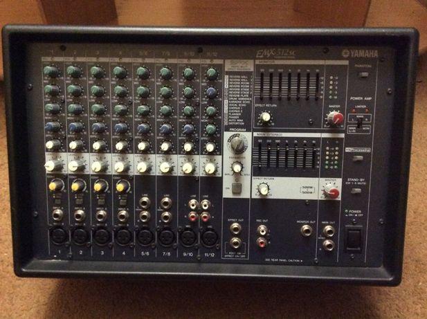 Колонки и Микшерный пульт . Yamaha s115v,Yamaha EMX-512sc