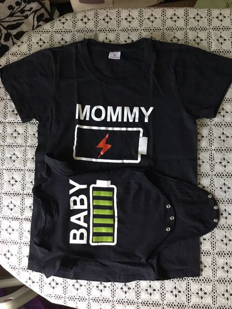 Семейный набор (бодик + футболка)