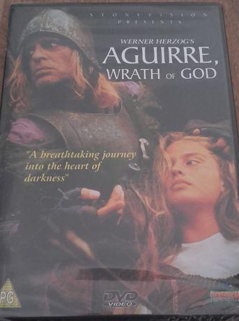 """DVD selado de """"Aguirre, a cólera de Deus"""", obra-prima de Werner Herzog"""