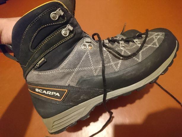 Ботинки Scarpa gore tex 45,5 Альп Трекинговые