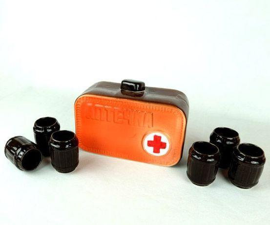 Подарочный набор Аптечка для мужчины автомобилиста, доктору, другу