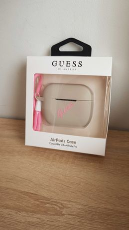 Etui GUESS AirPods Pro Cover Silicone Vintage Oryginalne 3 wzory