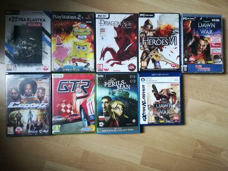 Sprzedam 8 dobrych gier na PC i 1 grę na PS2 okazja