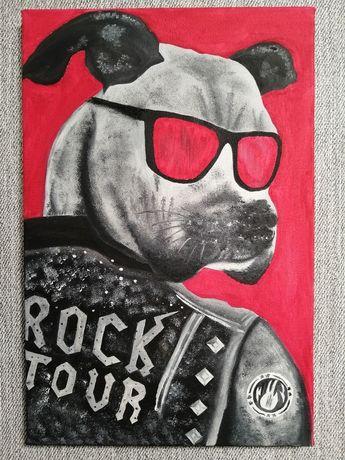 Картина маслом RockDog