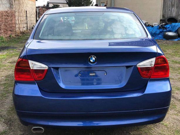 BMW E90 klapa tył montego blau