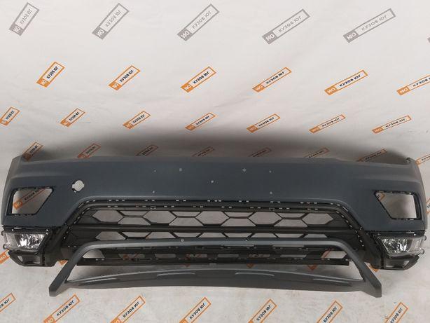 VW Tiguan 5NN 2018 2019 2020 Бампер передний верхняя нижняя часть