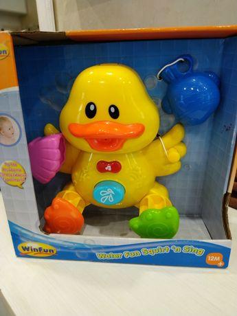Поющая игрушка в ванну.
