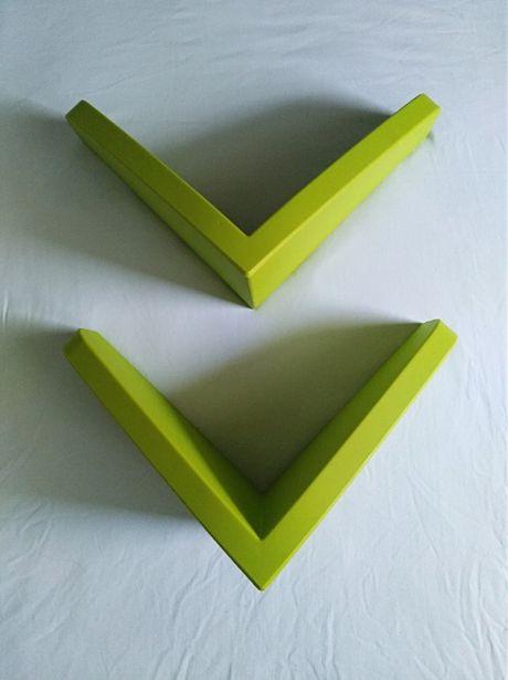 Zielone półki dziecięce