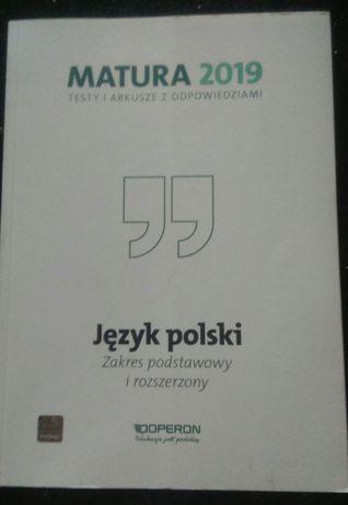 Matura 2019 jezyk polski zakres podstawowy i rozszerzony