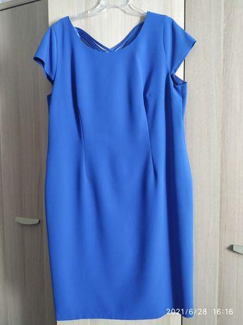 Sukienka r. 50 krótki rękaw